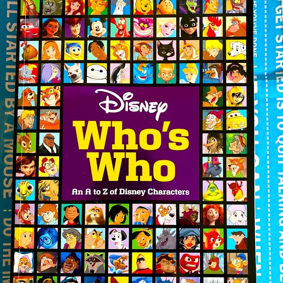 Disney Who's Who Book